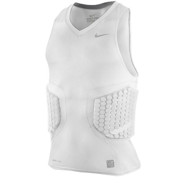 Mens nike pro combat vis deflex compression basketball for Nike men s pro cool sleeveless shirt