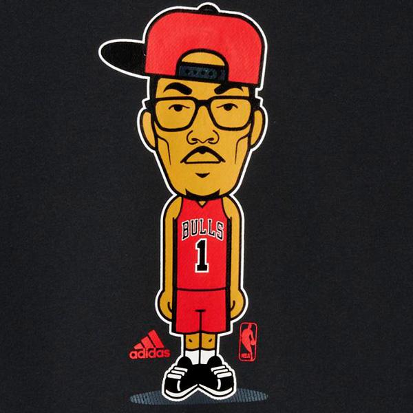 2015 Chicago Bulls Adidas Hoodie (Red) - Achat et vente