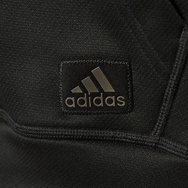 adidas all black hoodie