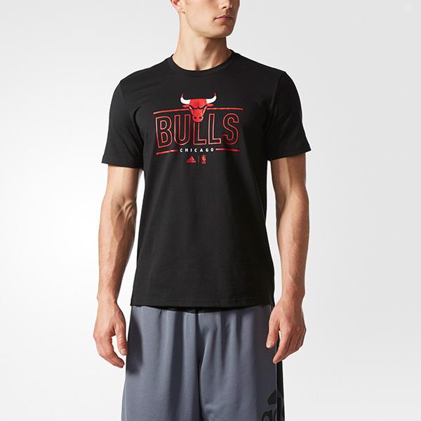 adidas t shirt chicago bulls
