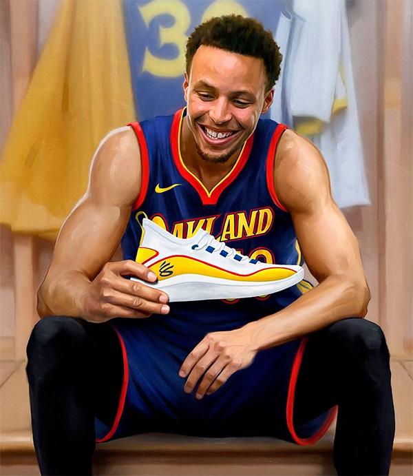 Curry tem a sua propria marca