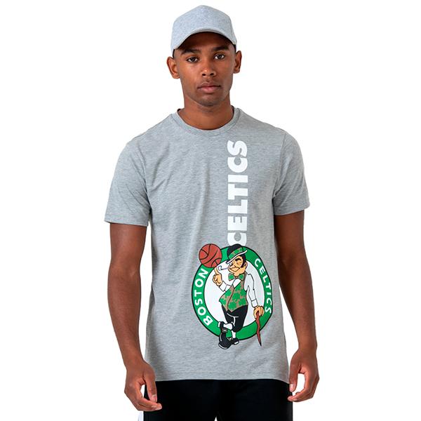 great deals uk store new styles New Era NBA Boston Celtics Wordmark Logo Tee
