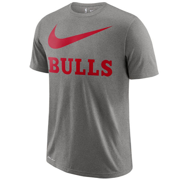 explique Injusto Consulta  Camiseta Nike Dri-FIT Swoosh Chicago Bulls Jr