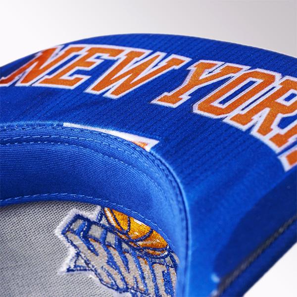 076250191 adidas New York Knicks Flat Official Team Headwear Cap