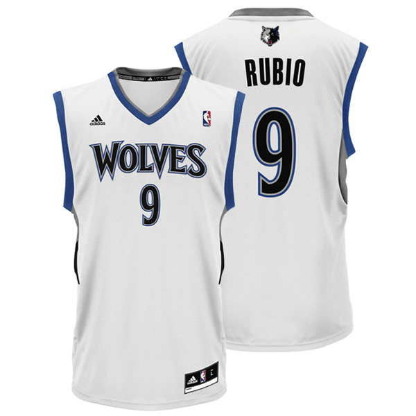 huge selection of 46c13 31f02 Ricky Rubio Jersey WT