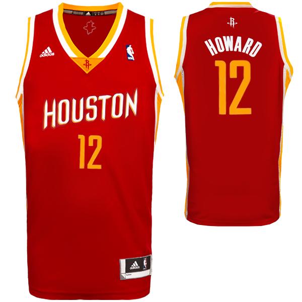 dc30038dbf5 adidas Dwight Howard Houston Rockets Swingman Jersey