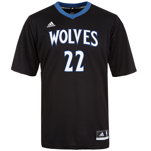 new arrival 5ec14 3d75d timberwolves sleeved jersey