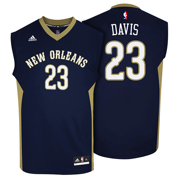 premium selection 58779 b7972 Anthony Davis Jersey BL
