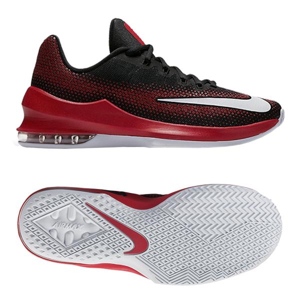 ec633285b67 Nike Air Max Infuriate Low Red Black ...