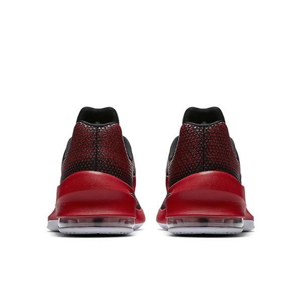 f3835124d09 ... Nike Air Max Infuriate Low Red Black ...
