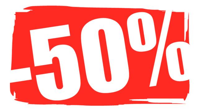 50% Promotion
