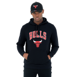 New Era Chicago Bulls Team Logo Hoodie