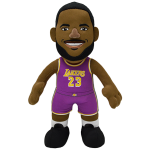 Boneco de peluche Bleacher Creatures Lebron James LA Lakers