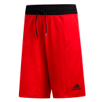adidas Sport 3-Stripes Red Shorts