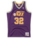 Camisola Mitchell & Ness Soul Swingman Karl Malone | Utah Jazz 1991-92