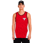 New Era NBA Chicago Bulls All Over Print Tank