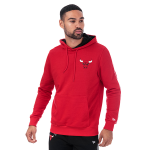 New Era Chicago Bulls Stripe Piping Hoodie