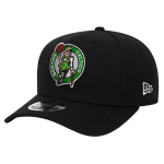 New Era NBA Boston Celtics Black Stretch Snapback 9FIFTY Cap