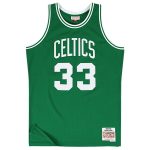 Larry Bird 1985-86 Boston Celtics Mitchell & Ness NBA Swingman Jersey
