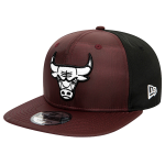 New Era Chicago Bulls Ripstop Front Maroon 9FIFTY Cap