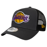 New Era NBA Los Angeles Lakers Dark Base Team A-Frame Trucker Cap | 9FORTY