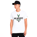 New Era NBA Milwaukee Bucks Basket Graphic Tee