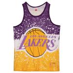 Mitchell and Ness Jumbotron Sublimated Tank | LA Lakers