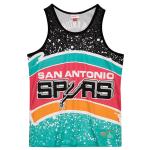 Mitchell and Ness Jumbotron Sublimated Tank | San Antonio Spurs