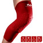 McDavid Hexforce HexPad Extended Leg Black Sleeves