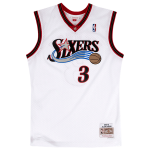 Mitchell and Ness NBA Allen Iverson Swingman Home White Jersey | Philadelphia 76ers 2000-01