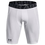 Under Armour Mens HeatGear® Pocket Long Shorts | White
