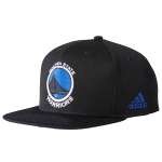 adidas NBA Golden State Warriors Flat Official Team Headwear Cap
