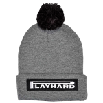 K1X Play Hard Bommel Beanie Grey