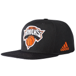 adidas NBA New York Knicks Flat Official Team Headwear Cap