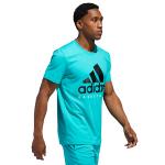 adidas Basketball Graphic Turquoise Tee