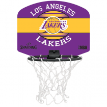 Minitabela Spalding Los Angeles Lakers