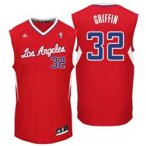 Jersey rojo de Blake Griffin Los Angeles Clippers adidas