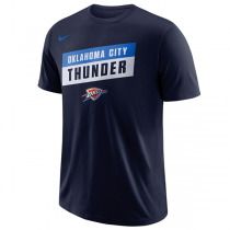 Nike NBA Stock Oklahoma City Thunder Dry T-Shirt