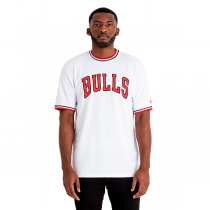 New Era Chicago Bulls Tipping Wordmark Tee