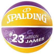 Lebron James LA Lakers Spalding Basketball