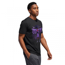 adidas Marvel Dame Black Panther Tee | Damian Lillard