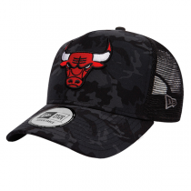 Chicago Bulls Camo Truck 9FORTY New Era Cap