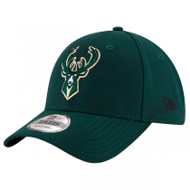 New Era 9FORTY NBA The League Milwaukee Bucks Strapback Cap