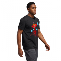 Camiseta adidas Marvel James Harden | Iron Man