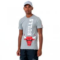New Era NBA Chicago Bulls Wordmark Logo Tee
