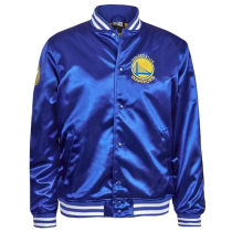 Casaco New Era Golden State Warriors Tip Off Sateen Bomber