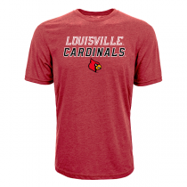 Levelwear NCAA Slant Route Louisville Cardinals Tee