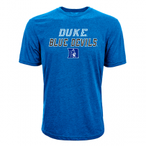Levelwear NCAA Slant Route Duke Blue Devils Tee