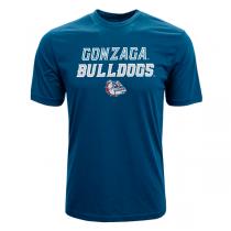 Levelwear NCAA Slant Route Gonzaga Bulldogs Tee