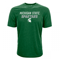 T-shirt Levelwear NCAA Slant Route Michigan State Spartans